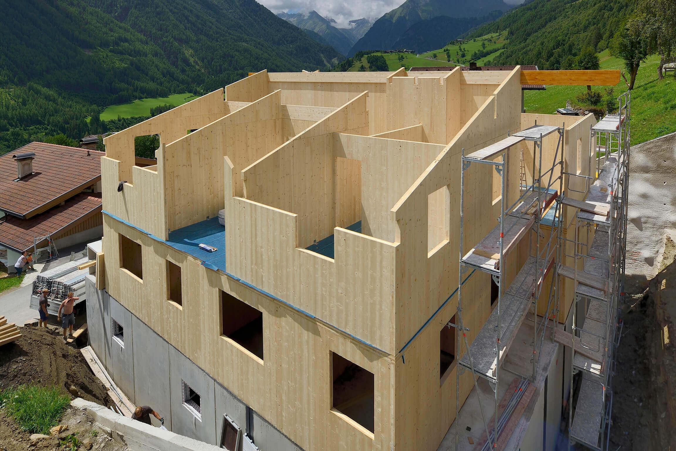 Holzbau Unterrainer - Gewerbekunden
